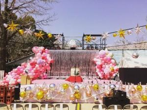 桜まつりステージ
